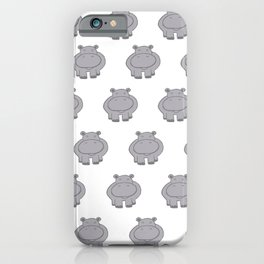 So Many Hippos iPhone Case