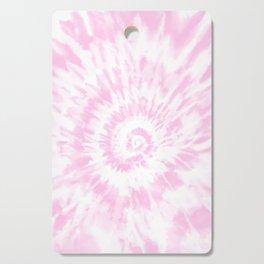 Lighter Pink Tie Dye Cutting Board