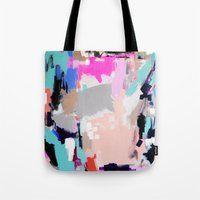 hollywood Tote Bags featuring Hollywood by kristinesarleyart
