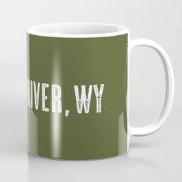 Deer: Green River, Wyoming Coffee Mug