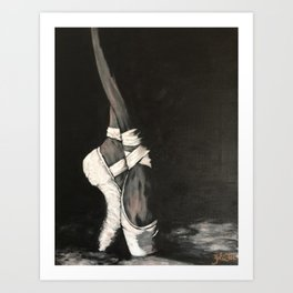 On Pointe Art Print