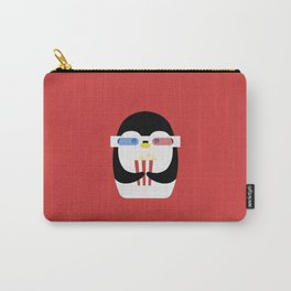 Penguin + Movie Time Carry-All Pouch