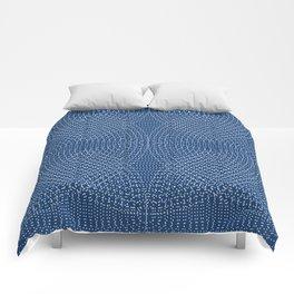 Komon circular pattern Comforters