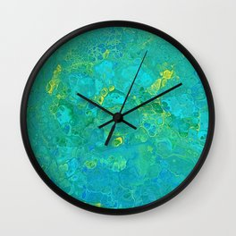Lilly Pond 2 Wall Clock