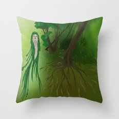 Forest of life Throw Pillow