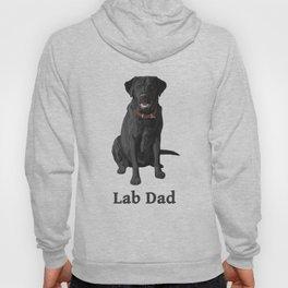 Lab Dad Black Labrador Retriever Hoody
