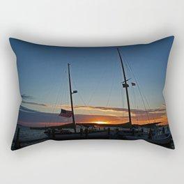Sunset on the Alondra Rectangular Pillow