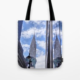 Chrysler Building Reflections in Midtown Tote Bag