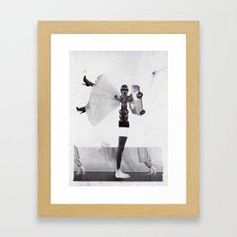 Noir et Blanc Framed Art Print