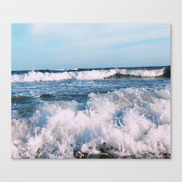 East End Waves Canvas Print