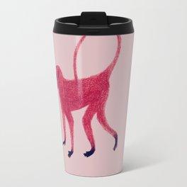 Red Monkey Travel Mug