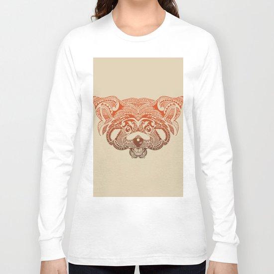 Polynesian Red Panda Long Sleeve T-shirt