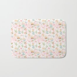 Flower Fairies Flowers and Baby Animals Bath Mat