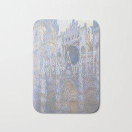 Claude Monet Rouen Cathedral, West Façade 1894 Bath Mat