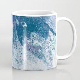 Purple and Teal Whisper Coffee Mug