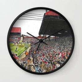 LAST EVER GOAL Wall Clock