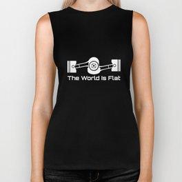 The World Is Flat Graphic Tee Subaru Boxer Engine Wrx Engineer T-Shirts Biker Tank