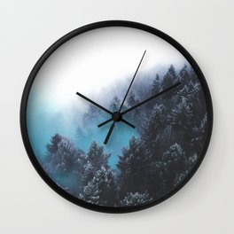 Have Faith In The Woods Wall Clock