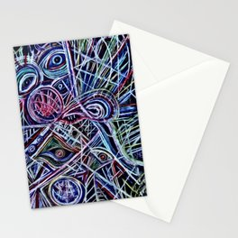 Eyes on a dancefloor Stationery Cards