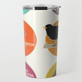 Garden Birds of Great Britain Travel Mug