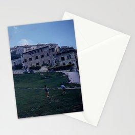 Vintage Color Photo * Italian Life * Soccer * Football * Youth * Kodachrome Stationery Cards