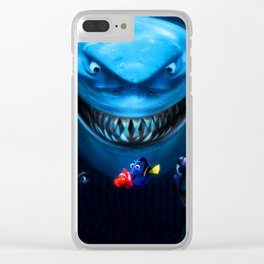 friendship fish Clear iPhone Case