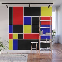 Mondrian #49 Wall Mural