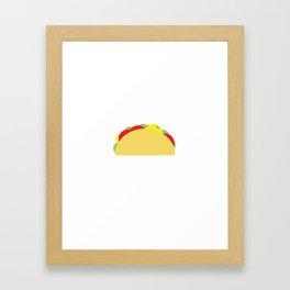 Taco Framed Art Print