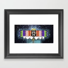 King of The Cosmos Framed Art Print