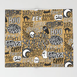 Have A Spoopy Halloween Throw Blanket
