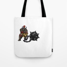 Heavily Armed Tote Bag