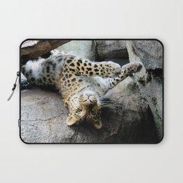 Leopard Boudoir Laptop Sleeve