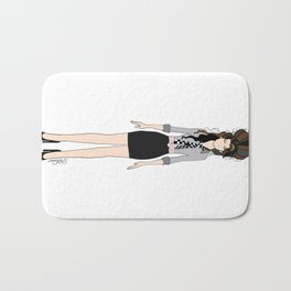 Amy Rehab Outfit 1 Bath Mat
