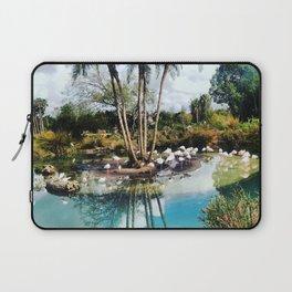 Flamingo Lagoon Laptop Sleeve
