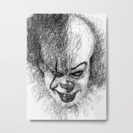Pennywise Metal Print