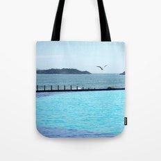 Swimming Pool Gull Tote Bag