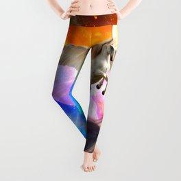 space unicorn. Leggings