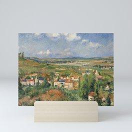 """Camille Pissarro """"L'Hermitage En Été, Pontoise"""" Mini Art Print"""