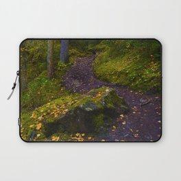 Walking along the Berg Lake Trail in Fall Laptop Sleeve