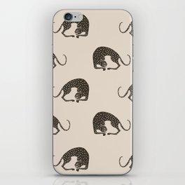 Blockprint Cheetah iPhone Skin
