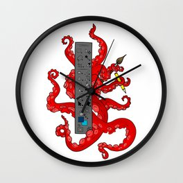 Octopus CS Wall Clock