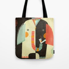 ELEPHANT FRONT Tote Bag