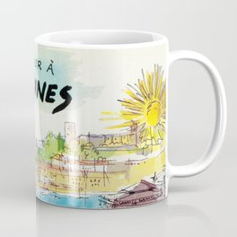 Winter In Cannes Coffee Mug