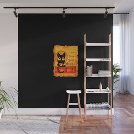 Chat Magique Wall Mural