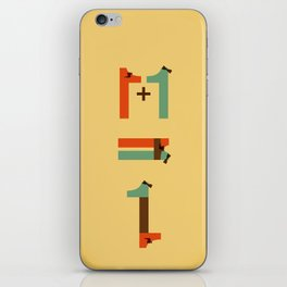 1 plus 1 iPhone Skin