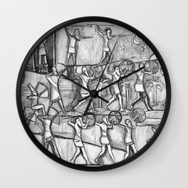 I Come in Peace Wall Clock