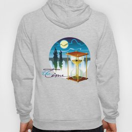 Sand-glass with southern landscape Hoody