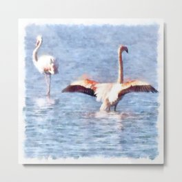 Time To Spread Your Wings Metal Print
