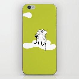 Flying Hog by Amanda Jones iPhone Skin