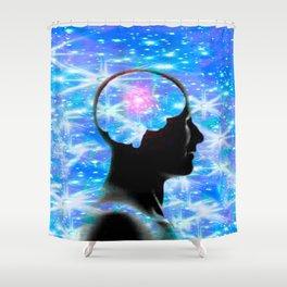 Neuron Dreams Shower Curtain